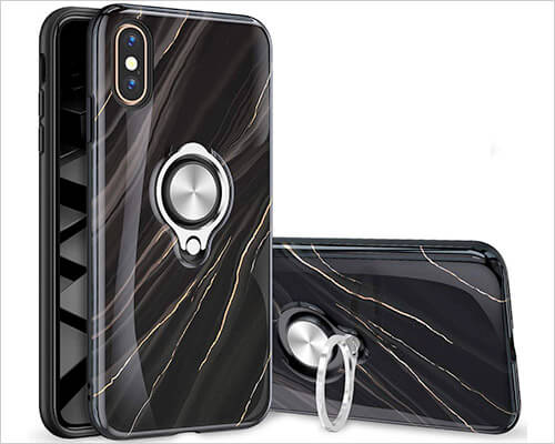 eSamcore iPhone Xs Ring Case