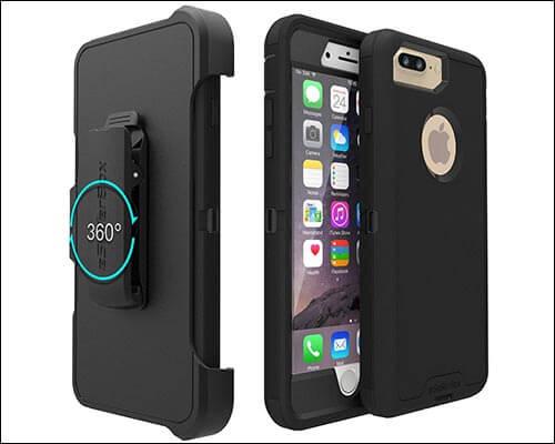 eSellerBox iPhone 8 Plus Belt Clip Case