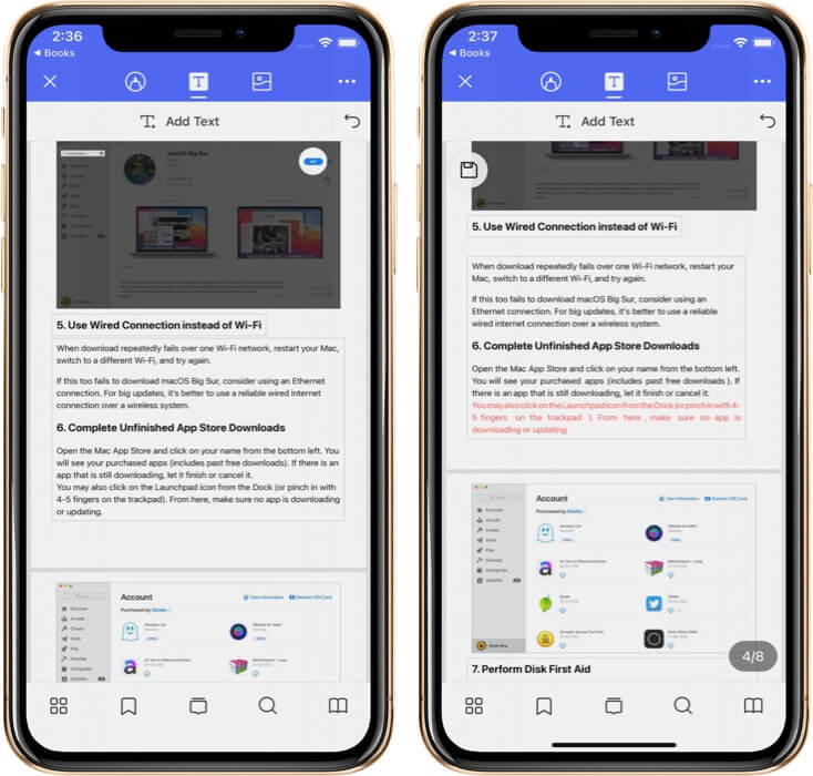 Edit Existing Text of PDF Using PDFelement Pro on iPhone
