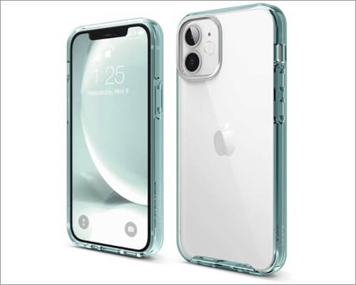 elago Hybrid Clear Bumper Case for iPhone 12 Mini