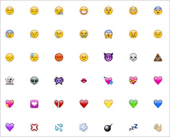 Emojis for iPhone OS 2.2