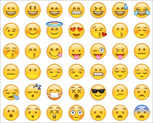 Emojis Released with iOS 6