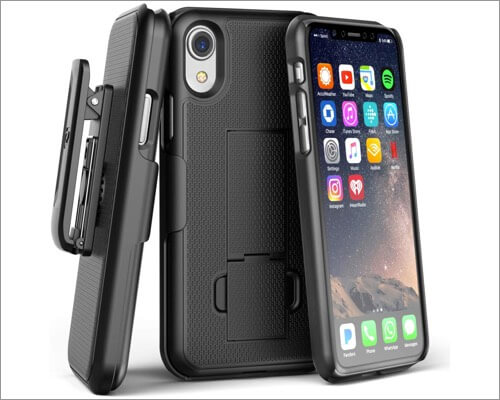 encased belt duraclip holster case for iphone xr