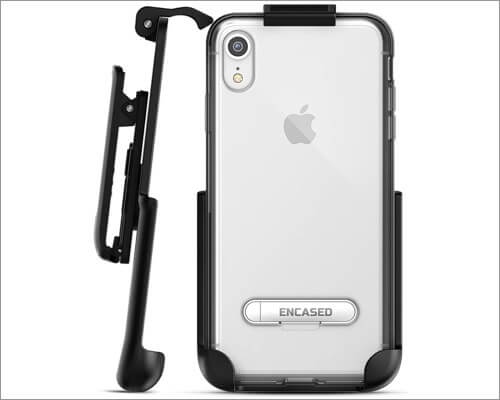 encased iphone xr belt clip case