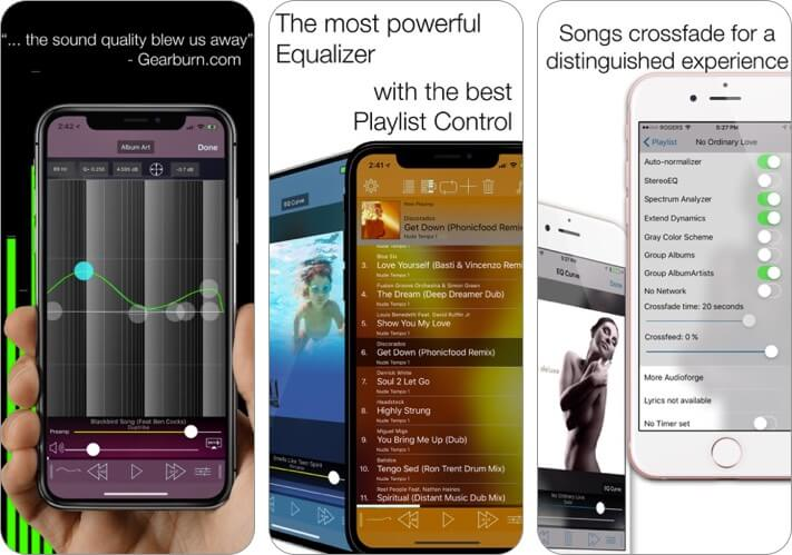 equalizer iphone and ipad app screenshot
