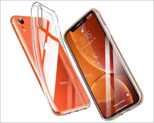 esr iphone xr slim clear case