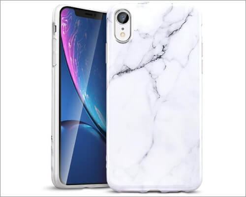 esr marble slim case for iphone xr