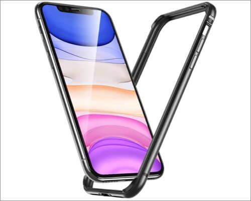 esr metal frame armor case for iphone 11