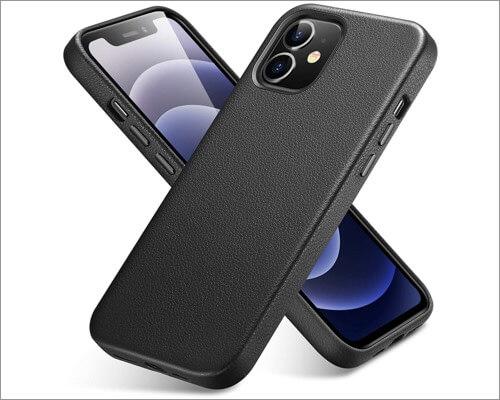 ESR Metro Premium Leather Cover for iPhone 12 Mini