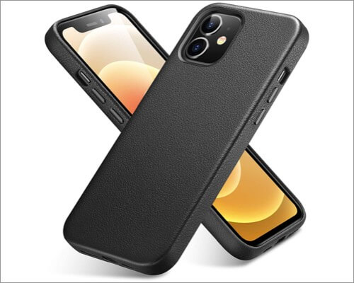 ESR Premium Leather Case for iPhone 12 Mini