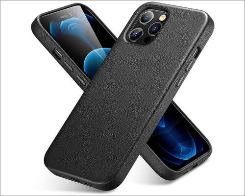 ESR Premium Slim Leather Case for iPhone 12 and 12 Pro