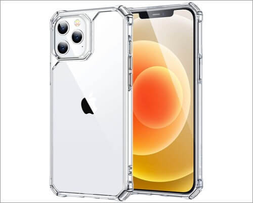 ESR Scratch-Resistant clear Case for iPhone 12 and 12 Pro