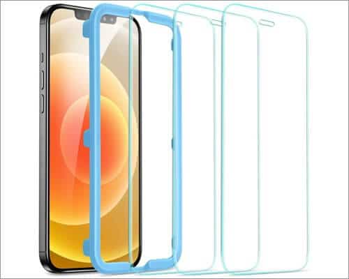 ESR Tempered Glass Screen Protector for iPhone 12 and 12 Pro
