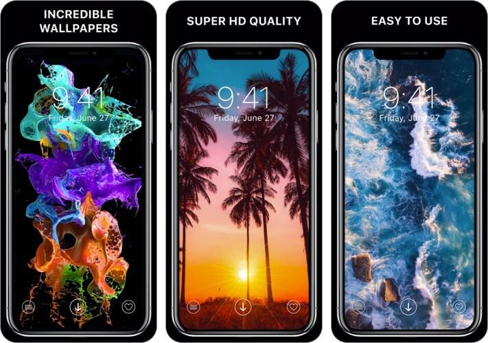 Everpix Cool Wallpapers iPhone and iPad App Screenshot