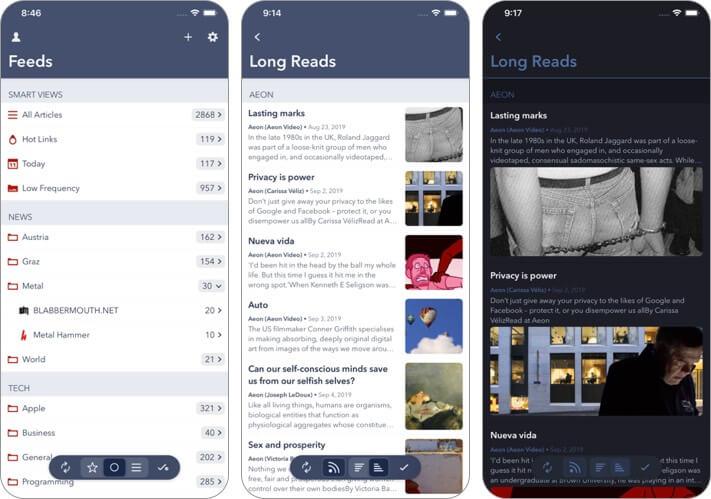fiery feeds iphone and ipad app