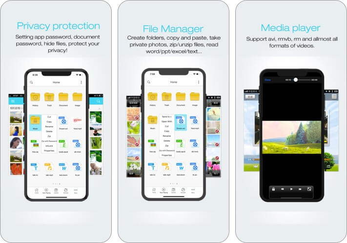 filemaster iphone and ipad file manager app screensnot