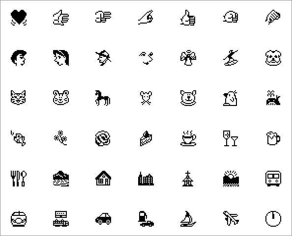 First Emoji Set Released in 1997