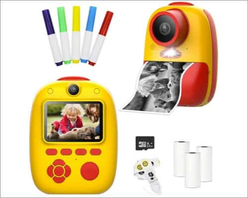 fisca Instant Camera for Kids