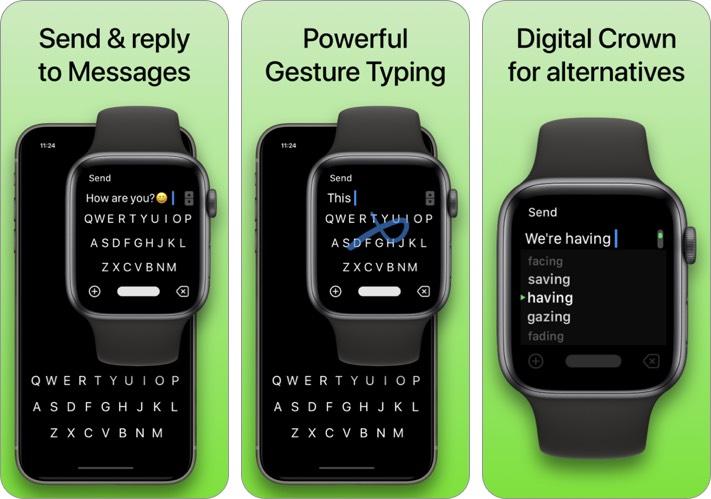 flicktype keyboard iphone and ipad app screenshot