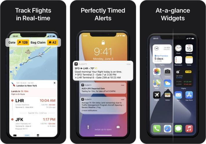 Flighty Flight Tracking iPhone and iPad App Screenshot