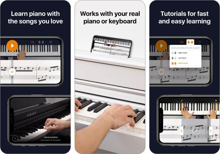 Flowkey Music Learning Скриншот приложения для iphone и ipad