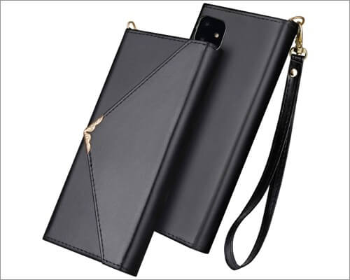 flyee envelope style folio case for iphone 11