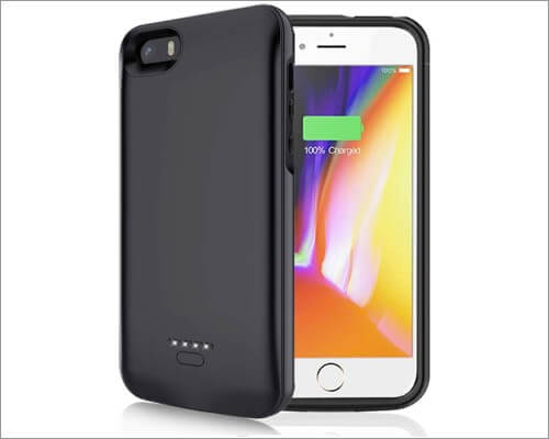 FNSON battery case for iPhone 5