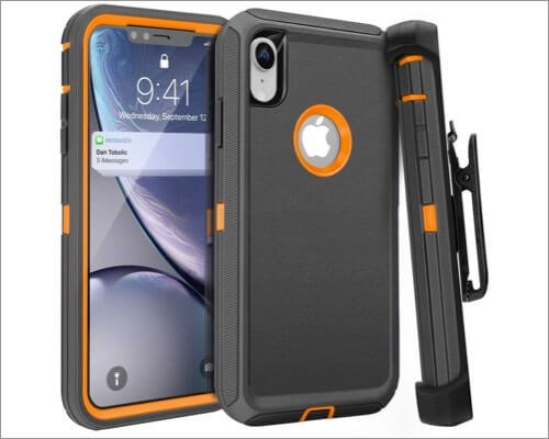 fogeek belt clip case for iphone xr