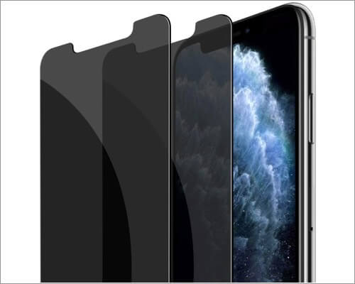 fotbor privacy screen protector for iphone 11 pro max