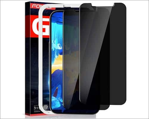 Fotbor Privacy Screen Protector for iPhone 12 Pro Max