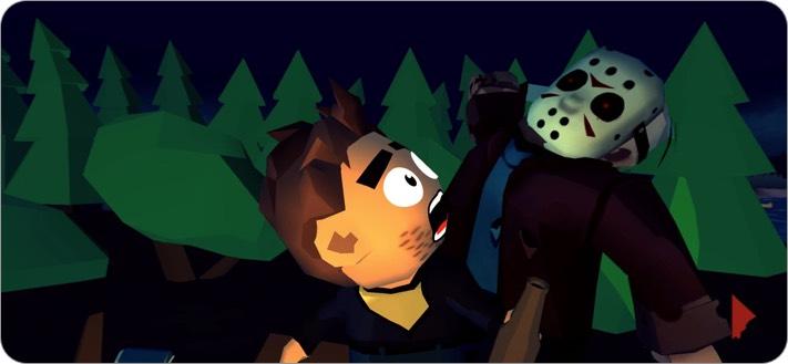 Friday the 13th iPhone and iPad Halloween Game Screenshot