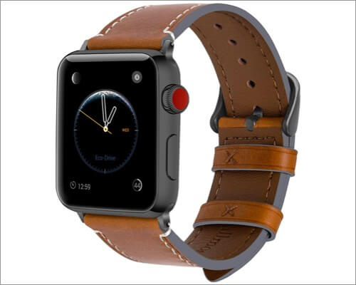 Fullmosa Wax Series Band for Apple Watch Series 6, 5, 3 and SE