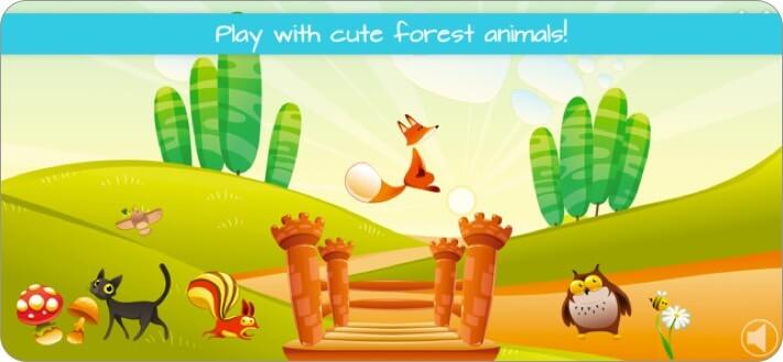fun animal games for kids iphone and ipad app screenshot