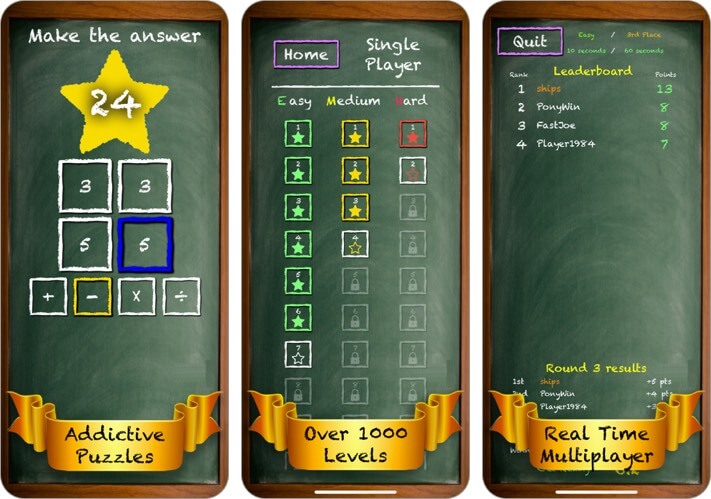 fun math for kids iphone and ipad app screenshot