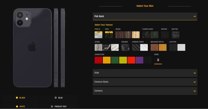gadgetshieldz iPhone 12 skins