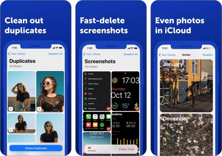Gemini Photos Cleaner iPhone and iPad App Screenshot