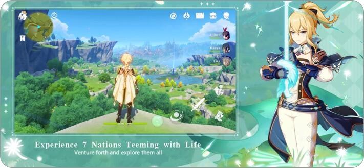 genshin impact iphone game screenshot