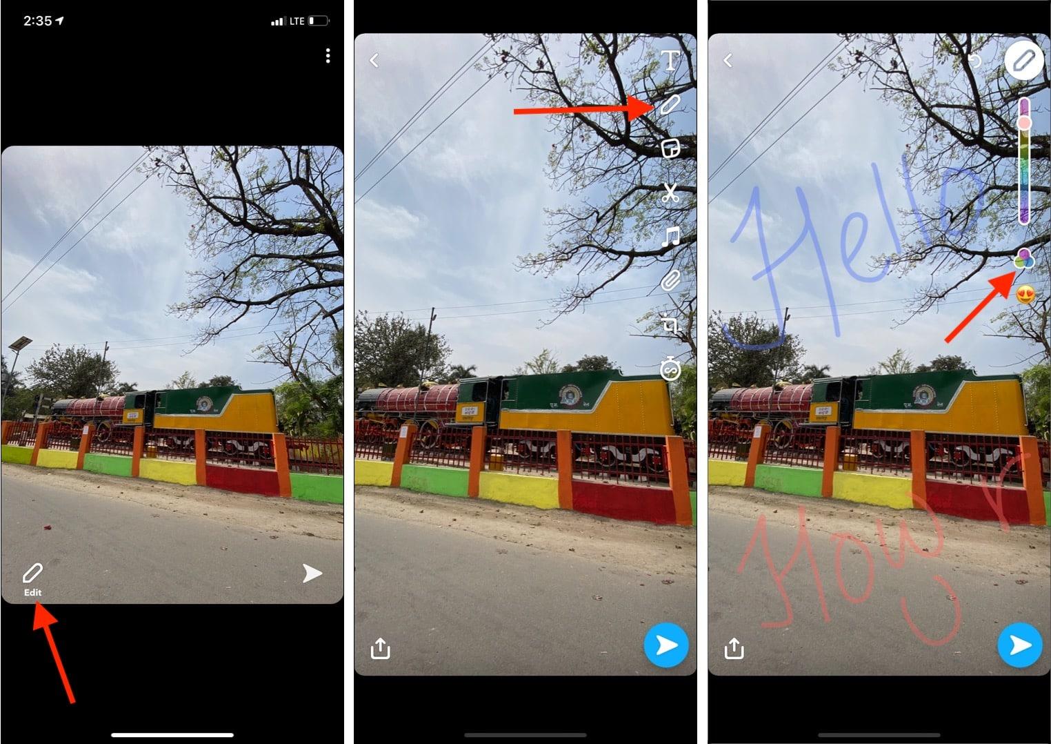 Получите прозрачные цвета с помощью приложения Snapchat