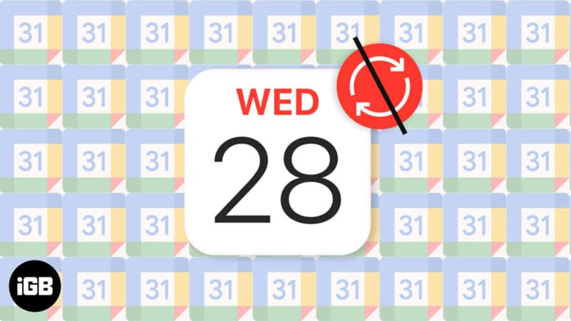 Google Calendar Not Syncing on iPhone? How to Fix It