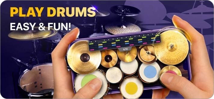 go drums learning app screenshot