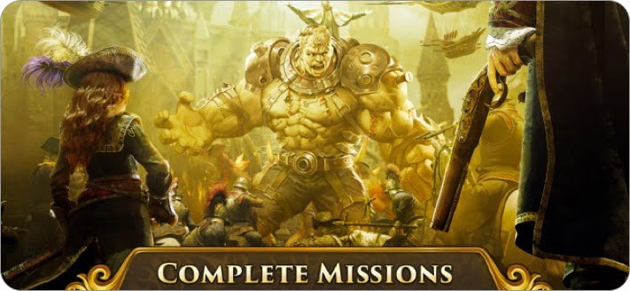 guns of glory empires conquer multiplayer role playing iphone and ipad game screenshot