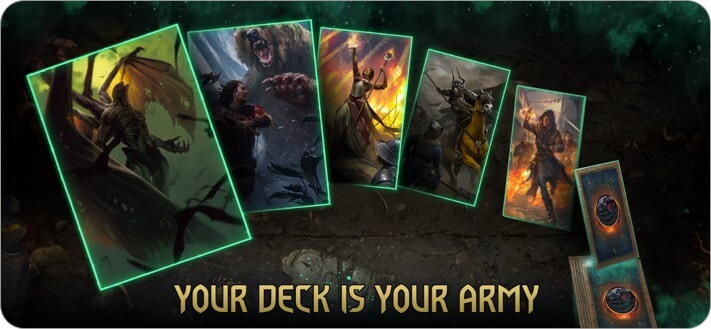 GWENT The Witcher Card Game iPhone and iPad App Screenshot