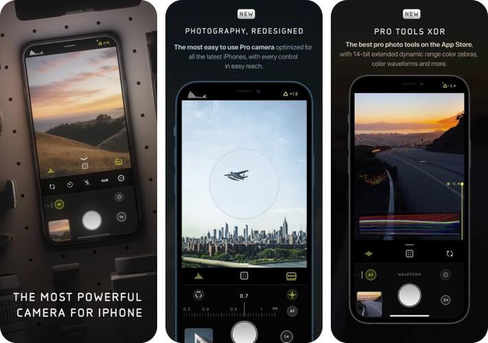 Halide Mark II Pro Camera RAW Photo Editing iPhone and iPad App Screenshot