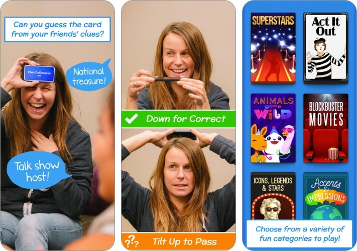 heads up two player iphone game screenshot