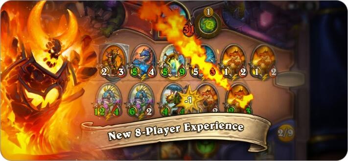 Hearthstone iPhone and iPad Card Game Screenshot