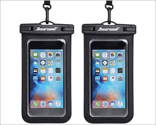 hiearcool waterproof phone pouch for iphone 11 pro max