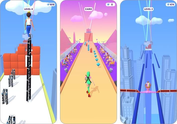 high heels iphone and ipad game screenshot