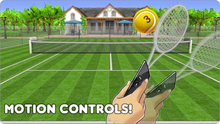 hit tennis 3 apple tv game screenshot