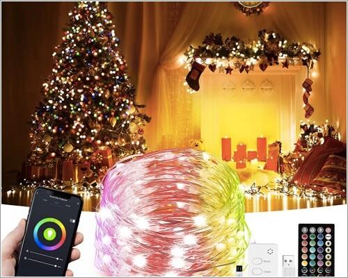 HOKEKI LED Indoor String Lights