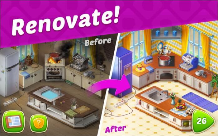 homescapes free mac game screenshot